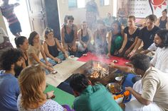 #hawan #Pooja #yoga #ceremony #guru #akshiyogashala #yogacourse