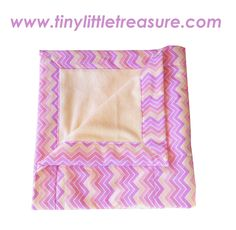 Baby Girl Blanket 39.95. Pastel pink, yellow and purple flannelette and lined with pastel yellow polar fleece, so very snuggly! 75cm x 85cm. Made with flannelette and coral fleece. You can purchase this product from www.tinylittletreasure.com