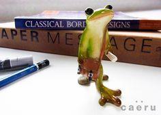 ミニ樹脂オブジェ蛙の置物 3アイテム