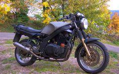 Suzuki 500 twin #motorcycle