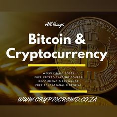Who says you need to pay to learn to trade❓ Crypto Crowd South Africa has a FREE bitcoin course and weekly educational blogs to get you started! 😁😁 👉 Visit www.cryptocrowd.co.za today! #bitcoin #btc #crypto #trading #cryptocurrency #cryptocrowdsouthafrica #course #CDMM #chamisadynastymediamoguls #business #onlinemarketing #advertisingagency #digitalmedia #digitalmarketing Online Marketing, Digital Marketing, Bitcoin Cryptocurrency, Advertising Agency, Digital Media, South Africa, Online Business, Crowd, How To Get