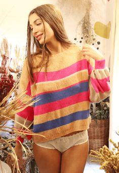 34193 trico polar listrado mundo lolita 02 Blues, Pullover, Sweaters, Fashion, Tricot, World, Moda, Fashion Styles, Sweater