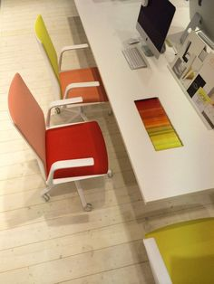 Arper Orgatec 2014 Kinesit chair by Lievore Altherr Molina