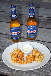 Kalik and Cracked Conch... one of my favorite meals.