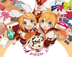 mirrors rin and len