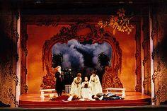 Cosi Fan Tutte. Tacoma Opera. Scenic Design by Carey Wong. 1999