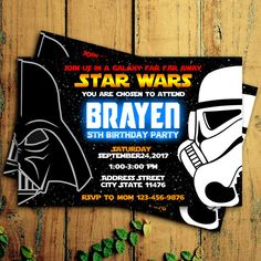 Star Wars Invitation   EDITABLE TEXT   Darth Vader Customizable Printable  Birthday Party Invite Jedi Sith Knight Galaxy   Instant Download | Star Wars  ...