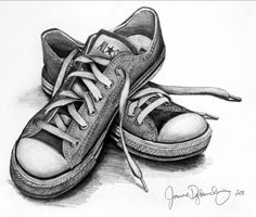 Buenas épocas jaja Pencil Art Drawings, Pencil Drawings For Beginners, Pencil Sketches Easy, Easy Still Life Drawing, Still Life Art, Still Life Sketch, Object Drawing, Shoe Drawing, Painting & Drawing