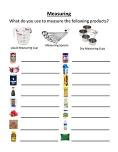 Which measuring tool should you use? This worksheet can be printed and used as…