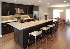 Espresso cabinets are all the rage right now, but how do you pick the perfect granite to match them? In this article, we discuss the three main pairing categories you need to consider when trying to find the perfect natural stone or quartz counter to match espresso cabinets.     http://www.archcitygranite.com/how-to-pick-perfect-countertop-to-match-espresso-cabinets/  #ArchCity #kitchenkountertops #espressocabinets