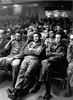 Che Guevara wow. No charisma at all