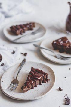 Vegán csokoládés kölestorta - Kifőztük Vegan Cake, Sweet Life, Panna Cotta, Nom Nom, Grilling, Food And Drink, Gluten, Sweets, Healthy Recipes