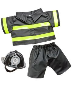 Build a Bear Firefighter Uniform Personalized US Air Force, Army, Navy, Marines Military Uniform, Cu Amelie, Marine Costume, Custom Teddy Bear, American Boy Doll, Build A Bear, Save The Day, Party Stores, Character Outfits, Online Gift Shop