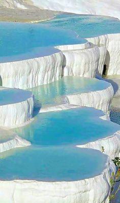Pamukkale, Turquia (piscinas naturais)