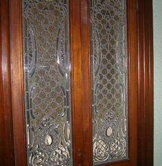 beveled glass panels doors | Leaded Glass Leaded Glass, Beveled Glass, Stained Glass Windows, Glass Panel Door, Glass Panels, My Dream Home, Doors, Home Decor, My Dream House