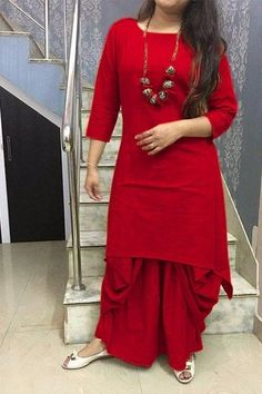 indian pakistani kurti with stylish Dhoti bottom Bollywood stayle wedding kurta4 #KRISHACREATION #KurtasKurti #AnyOccasion