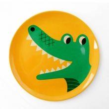 OMM Melaminteller Krokodil