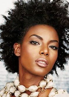 African American Wedding Hairstyles & Hairdos: natural