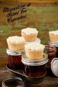 Moonshine and Sweet Tea Cupcakes recipe!