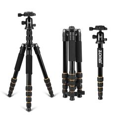 67.82$  Buy here - http://alisk7.worldwells.pw/go.php?t=32700398763 - New Zomei Q666 Professional Tripod For DSLR Camera Ball Head Monopod Tripod Compact Travel Camera Stand for Canon Nikon Sony SLR