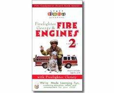 Firefighter George & Fire Engines, Fire Trucks, and Fire Safety, Volume 2. Fire Safety books for kids.