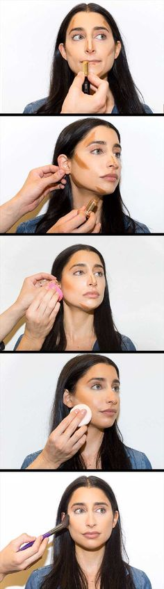 Best Contouring Tips and Tutorials - Master Contouring in 4 Easy Steps - Looking For The Best Contouring Tutorial, Kit or Products For Your Makeup Routine? You Have To See This Drugstore Bronzer, The Powder and Cream That These Tutorials Use To Show You How To Do Your Own Step By Step DIY Contouring At Home. Try A Different Palette Or Contouring Stick Today After Watching These Tutorials - thegoddess.com/contouring-tips-tutorials