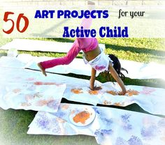 active art projects for kids