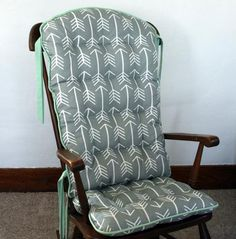 Rocking chair cushions on pinterest rocking chair covers chair