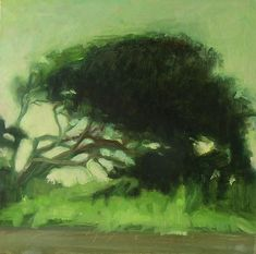 Artist Sandra Flood's Abstract Landscape ~ Oil On Linen ...BTW,Please Check this out: http://artcaffeine.imobileappsys.com