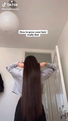Hair Tips Video, Long Hair Tips, Hair Videos, Hair Growing Tips, Grow Hair, Diy Hair Treatment, Hair Mask For Growth, Diy Hair Mask, Healthy Hair Tips