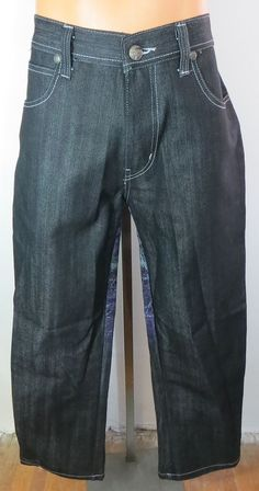 "NEW w/TAGS ""RAW BLUE"" MEN'S 32x32 DENIM PANTS - PLEASE SEE ALL PICTURES #RAWBLUE #CasualPants"