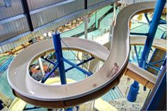 Chaos Indoor Waterpark in Eau Claire is a great place to escape to with the kids during the cold winter months in WI & MN.