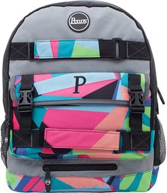 Pin for Later: 32 Mom-Approved Backpacks For Back to School That Are Seriously Awesome Slater Penny Pouch backpack Penny Boards Slater Penny Pouch backpack ($54) is designed with straps to carry your child's beloved skateboard — in addition to his or her books.
