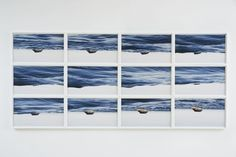 Available for sale from Marianne Boesky Gallery, Thiago Rocha Pitta, Ocean/Atlas Polyptych 12 C-prints Seascape Paintings, Landscape Paintings, Landscapes, Vitra Design, Institute Of Contemporary Art, Vanishing Point, Venice Biennale, High Art, Texture Art