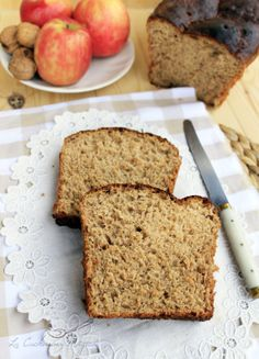 La Cucharina Mágica: Pan de molde integral con manzana, zanahoria, yogur y nueces