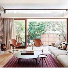 Daniel North and Catherine Downie's living room — The Design Files Jardan Furniture, Living Room Decor, Living Spaces, Living Rooms, Living Area, Paulistano, The Design Files, Floor To Ceiling Windows, Ceiling Height