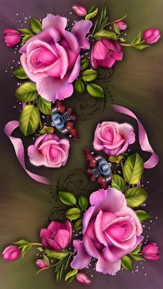 rose - Page 2 Beautiful Rose Flowers, Love Rose, Exotic Flowers, Art Floral, Wallpaper Backgrounds, Iphone Wallpaper, Decoupage, Butterfly Wallpaper, Vintage Roses