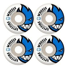 Includes Spitfire Bighead Wheels and Bones Reds Bearings. The larger the wheel, the longer the roll. The softer the wheel, the smoother the roll. The feeling of a new set of wheels is second to none. Skateboard Shop, Skateboard Parts, Skateboard Wheels, Skate Wheels, Spitfire Skate, Cool Skateboards, Skateboarding, Green, Blue