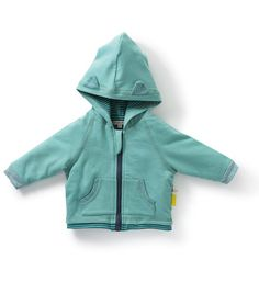 Moulin Roty - Socha - reversible hooded cardigan. Available at bonjourpetit.com