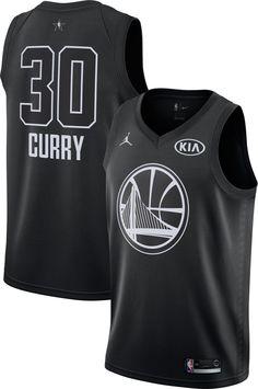 faab9dcf6 Jordan Men s 2018 NBA All-Star Game Stephen Curry Black Dri-FIT Swingman  Jersey