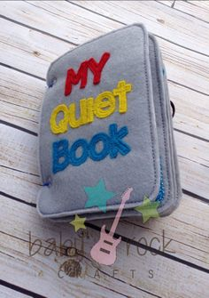 My quiet book complete set  busy book learning by BabyRockCrafts, $60.00