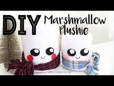 DIY Marshmallow Plushie Tutorial