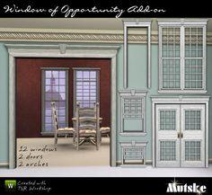 Window of Opportunity Add-ons by Mutske  http://www.thesimsresource.com/downloads/926911