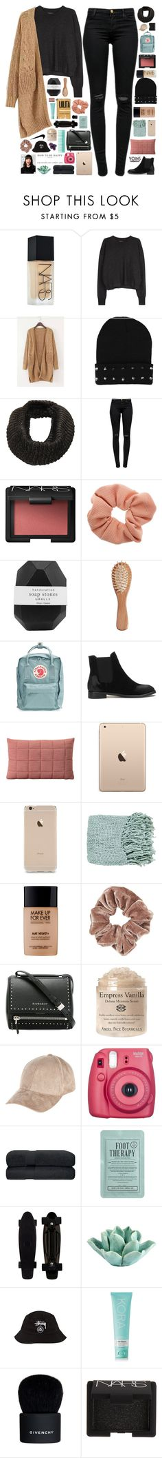 """""""Read description - Yoins 7"""" by ladyturquoise8 ❤ liked on Polyvore featuring NARS Cosmetics, Isabel Marant, J Brand, Dorothy Perkins, Pelle, The Unbranded Brand, Fjällräven, Muuto, Surya and MAKE UP FOR EVER"""