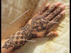 YouTube #fullhand #bridal #henna #mehndi #design #turorial