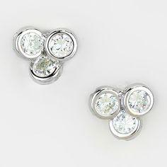 Adorn by LuLu- Crystal Trio Earring