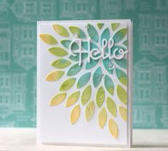 #papercraft #card plus #tutorial on coloring embossing paste