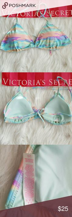 SALE!New! VIctoria's secret PINK swim top New without tags! The tags have been removed in VS warehouse.  PRICE IS FIRM! No trades! No modeling! No holds, sorry!  Thank you so much for shopping my closet! :) Victoria's Secret Swim Bikinis