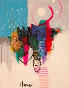 Cynthia  Brown - Sun Dog Day #colorful #abstract #art