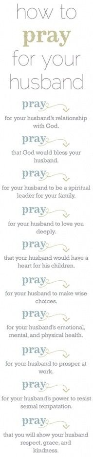 How to pray for your husband - Popular Quotes Pins on Pinterest